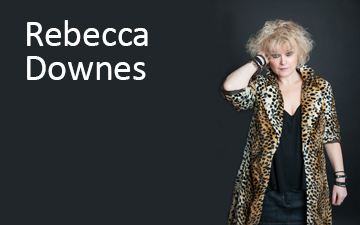 Rebecca Downes 2018 Right Banner