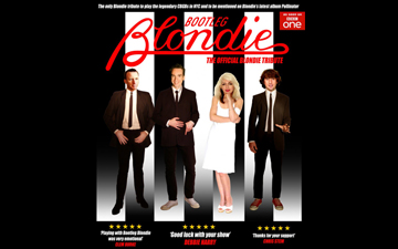 Bootleg Blondie right banner
