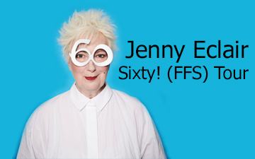 Jenny Eclair Sixty right banner