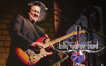 Billy Walton Band Right Banner 2020