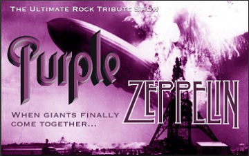 Purple Zeppelin Right Banner