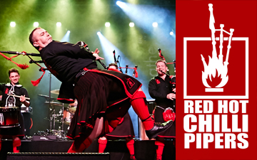 Red Hot Chilli Pipers Right Banner