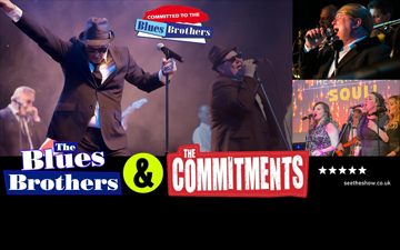 Committed to the Blues Brothers right banner