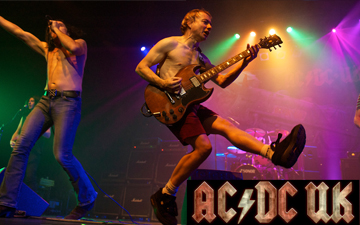 AC / DC UK Right Banner