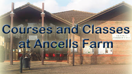Ancells Farm courses right banner