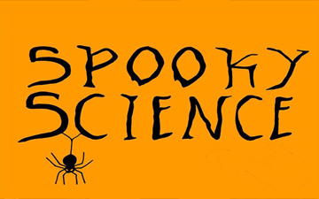 Spooky Science Right Banner