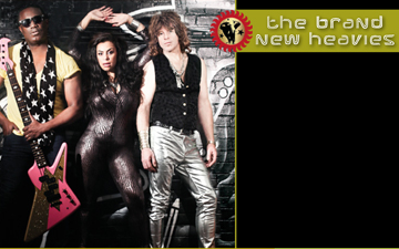 Brand New Heavies Right Banner